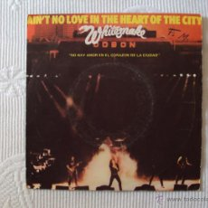 Discos de vinilo: WHITESNAKE, AIN'T NO LOVE IN THE HEART OF CITY (EMI 80) SINGLE ESPAÑA DEEP PURPLE. Lote 39561031