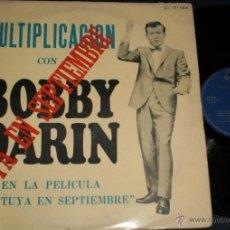 Discos de vinilo: BOBBY DARIN LP MULTIPLICACION-TUYA EN SEPTIEMBRE-MEXICO. Lote 39562552