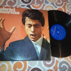 Discos de vinilo: GABRIEL MORENO - LP 1970 / COLUMBIA . Lote 39565492