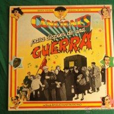 Discos de vinilo: CANCIONES PARA DESPUES DE UNA GUERRA. BANDA SONORA PELICULA. 2 LP. Lote 39866597
