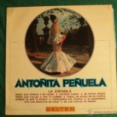 Discos de vinilo: ANTOÑITA PIÑUELA. LA ESPABILA. BELTER. LP 12 CANCIONES. Lote 39866682