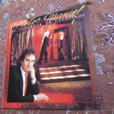 Discos de vinilo: LP DE VINILO DE VICTOR MANUEL- TITULO LANZADOR DE CUCHILLOS- ORIGINAL DEL 84- ¡¡¡NUEVO A ESTRENAR¡¡¡. Lote 39572572