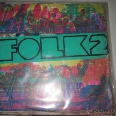 Discos de vinilo: FOLK2 LP PAU RIBA, SAPASTRES, ETC. 4 VENTS. Lote 39574742