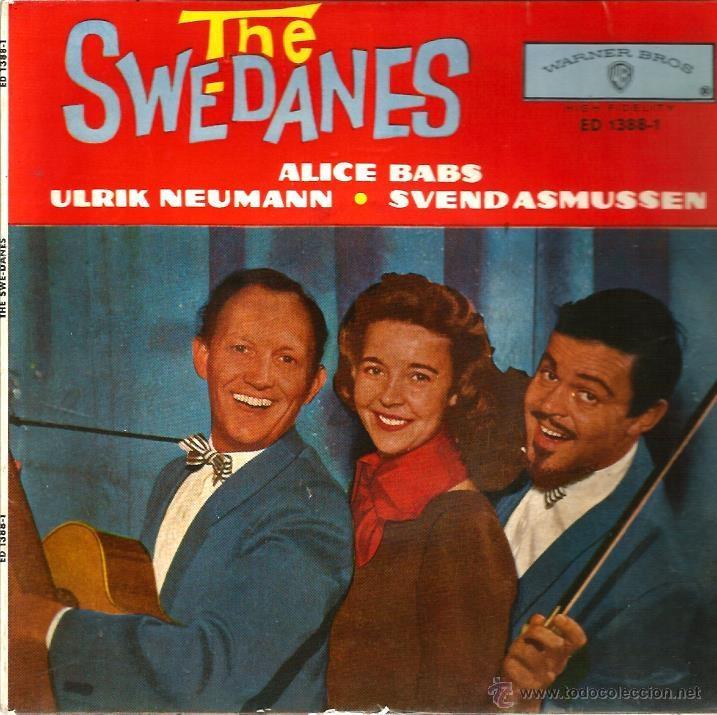 EP THE SWEDANES ( ALICIA BABS ) : GEORGIA CAMP MEETING (Música - Discos de Vinilo - EPs - Country y Folk)