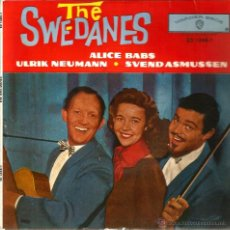 Discos de vinilo: EP THE SWEDANES ( ALICIA BABS ) : GEORGIA CAMP MEETING. Lote 39576888