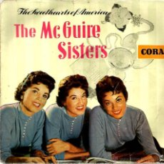 Discos de vinilo: EP THE MCGUIRE SISTERS : SWEET SONG OF INDIA . Lote 39576922