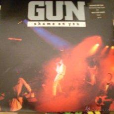 Vinyl records - GUN: SHAME ON YOU (A & M RECORDS 1989) - 39578876