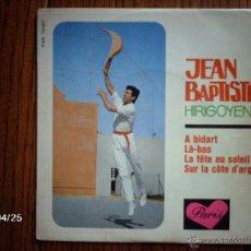 Discos de vinilo: JEAN BAPTISTE HIRIGOYEN - A BIDART + 3. Lote 39585661