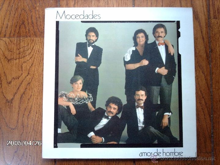 MOCEDADES - AMOR DE HOMBRE (Música - Discos - LP Vinilo - Grupos Españoles de los 70 y 80)