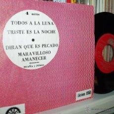 Discos de vinilo: LOS POLIEDRICOS EP TODOS A LA LUNA + 3 SELLO BERTA SPAIN. Lote 39581575