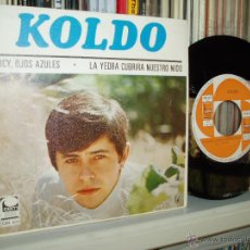 Discos de vinilo: KOLDO SINGLE LUCY, OJOS AZULES BLUE EYED SOUL MOD SPAIN MINT. Lote 39582966