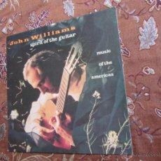 Discos de vinilo: LP DE VINILO DE JOHN WILLIAMS- TITULO SPIRIT OT THE GUITAR- ORIGINAL DEL 89- MADE IN HOLLANDE-NUEVO¡. Lote 39595368