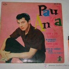 Discos de vinilo: SINGLE PAUL ANKA, ADAN Y EVA. Lote 39611312