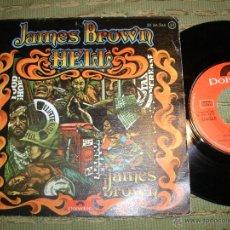 Discos de vinilo: JAMES BROWN HELL SINGLE. Lote 39614619
