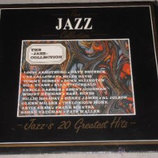 Discos de vinilo: THE JAZZ COLLECTION - BILL EVANS,SARAH VAUGHAN,CAB CALLOWAY,WOODY HERMAN..- DEJAVU 1987 - ITALY - T-. Lote 39620681