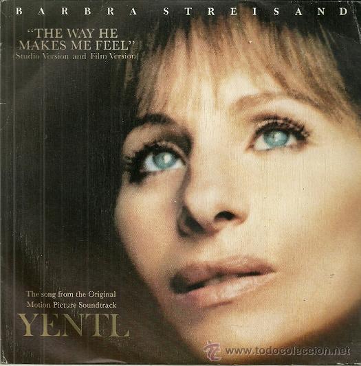 BARBRA STREISAND DE LA PELICULA YENTL SINGLE SELLO CBS AÑO 1983 (PROMO SOLO UNA CARA) (Música - Discos - Singles Vinilo - Bandas Sonoras y Actores)
