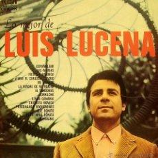 Discos de vinilo: LUIS LUCENA-LO MEJOR DE LUIS LUCENA LP VINILO 1973 SPAIN. Lote 39633042