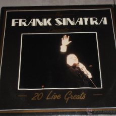 Discos de vinilo: FRANK SINATRA - THE CONCERTS - DEJAVU 1987 - MADE IN ITALY - LP. Lote 39633432