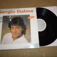 Discos de vinilo: SERGIO DALMA BALLARE STRETTI / DANSER CONTRE TOI ITALIANO FRANCES MAXI SINGLE VINILO EUROVISION 1991. Lote 39634774