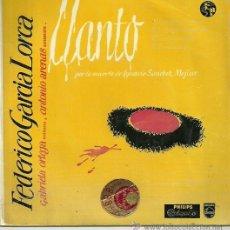 Discos de vinilo: GABRIELA ORTEGA EP SELLO PHILIPS AÑO 1960. Lote 39635335
