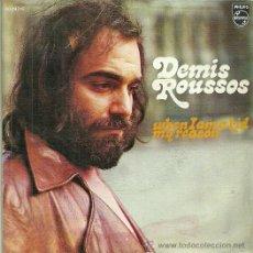 Discos de vinilo: DEMIS ROUSSOS SINGLE SELLO PHILIPS AÑO 1972. Lote 39635644
