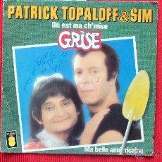 Discos de vinilo: PATRICK TOPALOFF & SIM. Lote 39636337