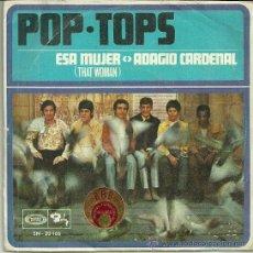 Discos de vinilo: POP-TOPS SINGLE SELLO MOVIEPLAY AÑO 1968. Lote 39639638