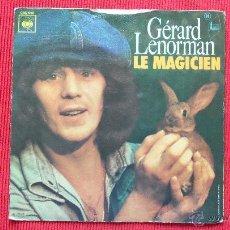 Discos de vinilo: GERARD LENORMAN. Lote 39641472