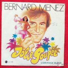 Discos de vinilo: BERNARD MENEZ. Lote 39641635