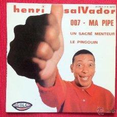 Discos de vinilo: HENRI SALVADOR. Lote 39656386