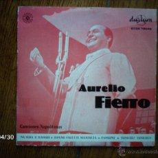 Discos de vinilo: AURELIO FIERRO - NA SERA E MAGGIO + 3. Lote 39661615