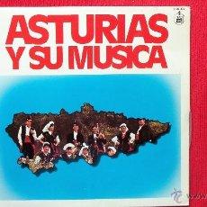 Discos de vinilo: ASTURIAS Y SU MUSICA - ORFEON CONDAL DE NOREÑA - CORO MINERO DE TURON. Lote 39871466