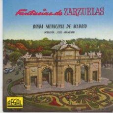 Discos de vinilo: BANDA MUNICIPAL DE MADRID,EL BAILE DE LUIS ALONSO DEL 58. Lote 39641074