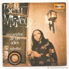 Discos de vinilo: DISCO SINGLE BETTY MISSIEGO RECUERDOS DE UN ADIOS FESTIVAL OTI 1972 INTIMIDAD DISCO EN. Lote 39643937