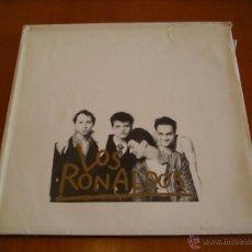 Discos de vinilo: LOS RONALDOS LP SABOR SALADO ENSOBRADO ORIGINAL ESPAÑA 1990 + DOSSIER PROMOCIONAL. Lote 39646774