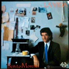 Discos de vinilo: BENITO MORENO, LA VIDA - LP CON ENCARTE INTERIOR CON LETRAS. Lote 39654129