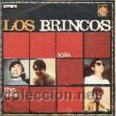 Discos de vinilo: LOS BRINCOS SINGLE SELLO NOVOLA AÑO 1967. Lote 39655011
