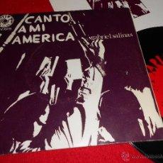 Discos de vinilo: GABRIEL SALINAS CANTO A MI AMERICA/ HACE FALTA UN GUERRILLERO 7 SINGLE 1969 BARLOVENTO SPAIN ESPAÑA. Lote 39655482