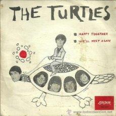 Discos de vinilo: THE TURTLES SINGLE SELLO LONDON AÑO 1967. Lote 39655428