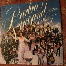 Discos de vinilo: LP DE VINILO DE BARBRA STREISAND Y OTROS INSTRUMENTOS MUSICALES-ORIGINAL DEL 73-¡¡¡¡¡NUEVO¡¡¡¡. Lote 39655764