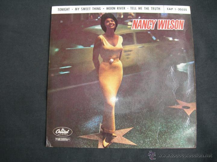 EP NANCY WILSON // TONIGHT + 3 (Música - Discos de Vinilo - EPs - Funk, Soul y Black Music)