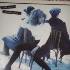 Discos de vinilo: TINA TURNER-FOREIGN AFFAIR-LP. Lote 39658224