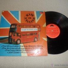 Discos de vinilo: MADE IN ENGLAND VARIOS 74 METALLICA DIO IRON MAIDEN MEGADETH AC DC DORO. Lote 39661851
