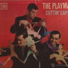 Discos de vinilo: LP-THE PLAYMATES CUTTIN CAPERS-ROULETTE 25068-USA 1959-VOCAL GROUP. Lote 39664063