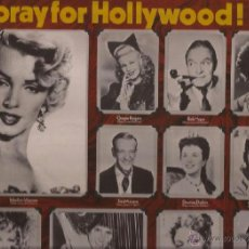 Discos de vinilo: LP-HOORAY FOR HOLLYWOOD-RCA 5045-ACTORES CANTANDO-MARILYIN ASTAIRE DIETRICH LAMOUR CRAWFORD. Lote 39664659