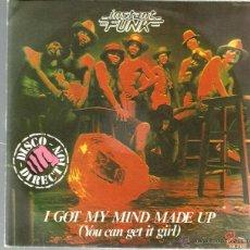 Discos de vinilo: SINGLE INSTANT FUNK : I GOT MY MIND MADE UP. Lote 39665222