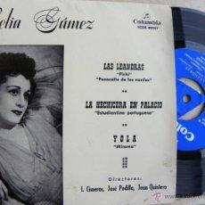 Discos de vinilo: CELIA GAMEZ -EP 1967 -BUEN ESTADO. Lote 39670853