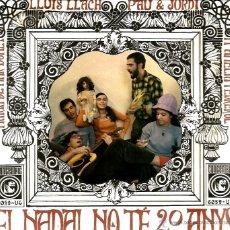 Discos de vinilo: EP MARIA DEL MAR BONET + LLUIS LLACH + PAU I JORDI ( PAU RIBA ) + MARIA AMELIA PEDREROL . Lote 39674812