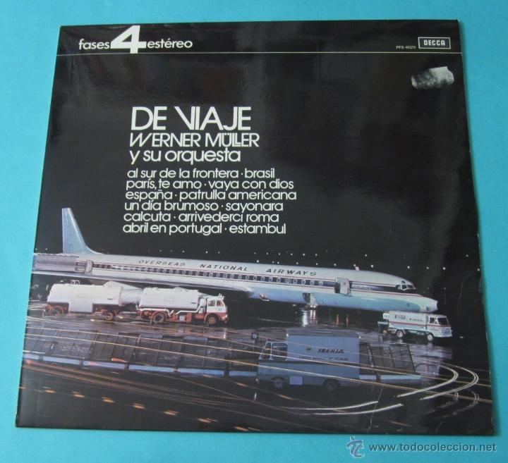 DE VIAJE. WERNER MÜLLER Y SU ORQUESTA (Música - Discos - LP Vinilo - Orquestas)
