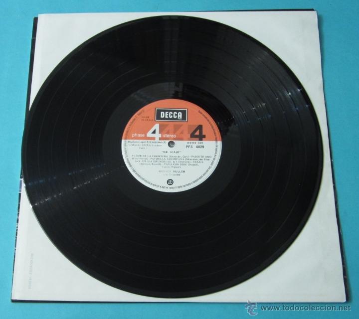 Discos de vinilo: DE VIAJE. WERNER MÜLLER Y SU ORQUESTA - Foto 3 - 39680762
